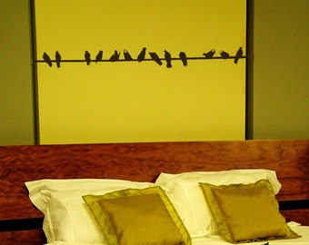 Custom Lisitng for cdnBang - - 1 foot wire and bird Add on vinyl Graphi decal