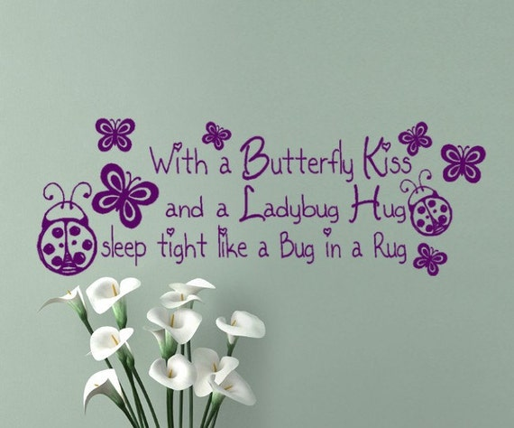 Always kiss me goodnight wall decals high resolution images