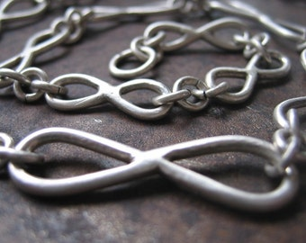 infinity necklace.  made to order for your wedding.