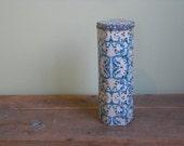 FREE SHIPPING Vintage Matchstick Tin