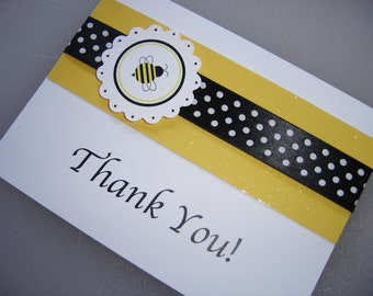 Bumble Bee Stationery or Thank You Card