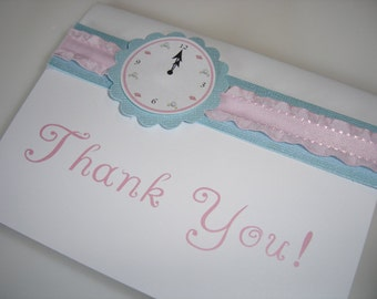 Cinderella or Princess Stationery or Thank You Card