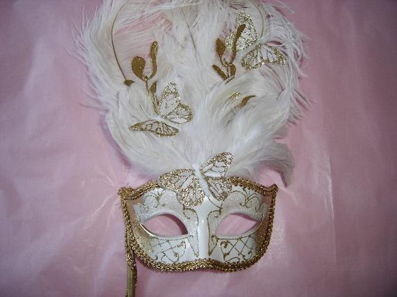 Butterfly Venetian Masks -- Customizable