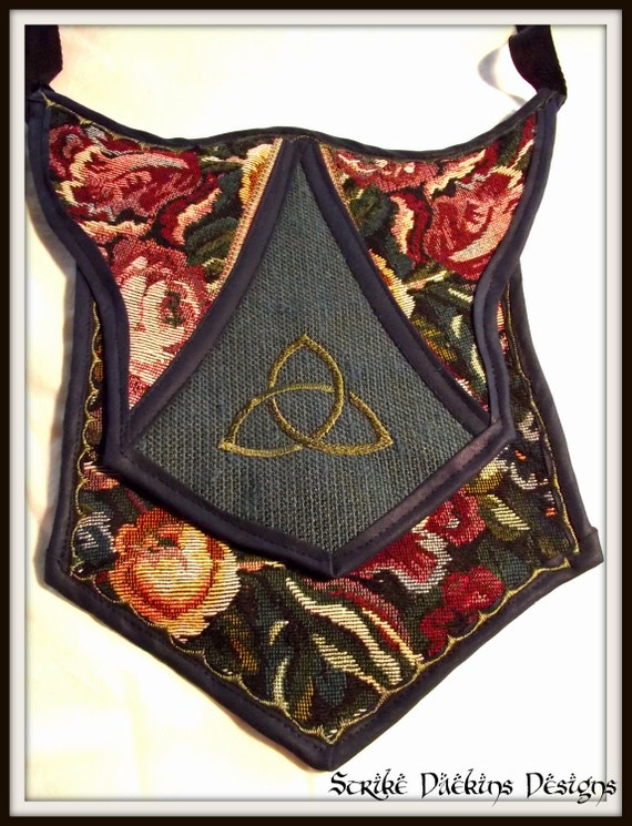 """Banner Purse - """"Floral Trinity"""""""