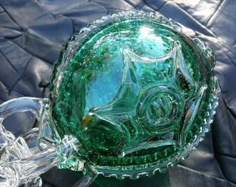 Murano Glass Royal Sceptre,  Rare Unusual Sculptural Piece