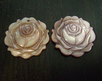 CLEARANCE !!! Cocoa Rose Pendant Duo