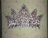 Cheetah Princess Tote Bag
