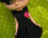Blythe Party Dress - Pink Apple