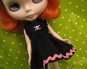 Blythe Party Dress - Sweet Skull