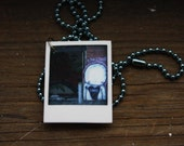 Tiny Polaroid Necklace - Cleveland Series - Graffiti Guy No. 2
