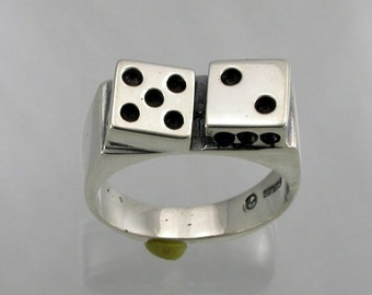 Sterling Silver Lucky Seven Ring