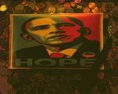 Obama Purse Hope Wrislet\/Purse
