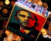 Barack Obama Red White and Blue Hope (Change) Purse