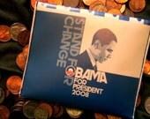 Stand for Change Barack Obama Change Purse