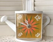 Retro Watering Can Clock - Free Domestic Shipping