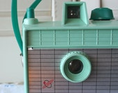 Vintage Savoy Camera in Mint Green- (reserved for highplacesphotos)