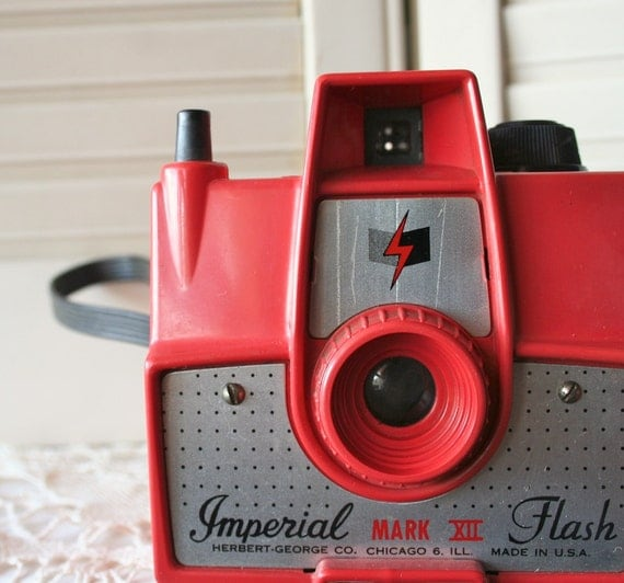 Imperial Mark XII  Camera in Red - Free Domestic Shipping