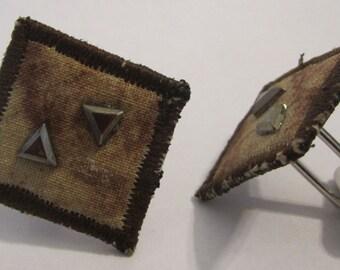 Fabric Cuff link