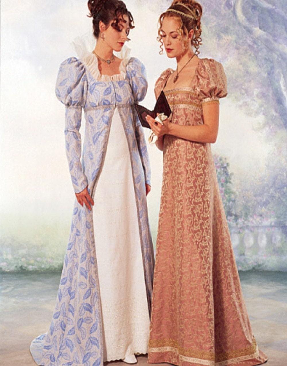 new plus size victorian style coat dress sew pattern 6630