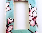 Light Switch Cover Wall Plates  in  Watercolor Blossoms   (170R)