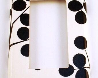 Rocker Switch Plate Light Switch Cover Single Rocker Switchplate  in Black Berry (263R)
