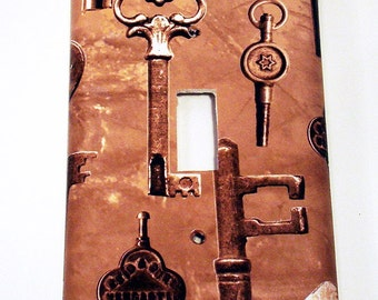Wall Plates Light Switch Cover Switchplate in  Keys to the Castle (264S)