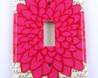 Light Switch Cover  Wall Decor   Light  Switchplate True Love  (232S)
