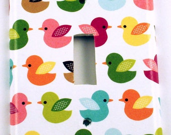 Light Switch Cover Wall Decor  Single Switch Plate Light Switchplate in  Lucky Ducky (216S)