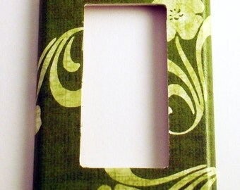 Switch Plate Wall Decor Rocker Light Switch Cover  Switchplate  in Grace (146R)