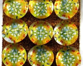 Decorative Glass Push Pins  Thumb Tacks Cork Board Pins in  Madrid (P55)