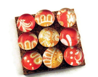 Decorative Push Pins Cork Board Pins Thumb Tacks  in Mandarin  (PP58)