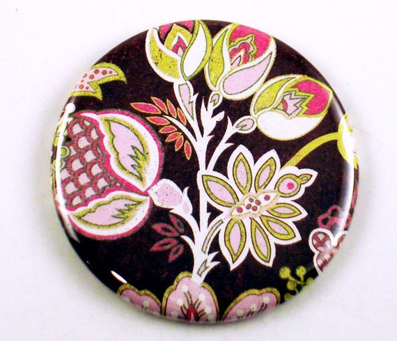 Pocket Mirror  Makeup Purse Cosmetic Mirror in  Sultry  (PM34)