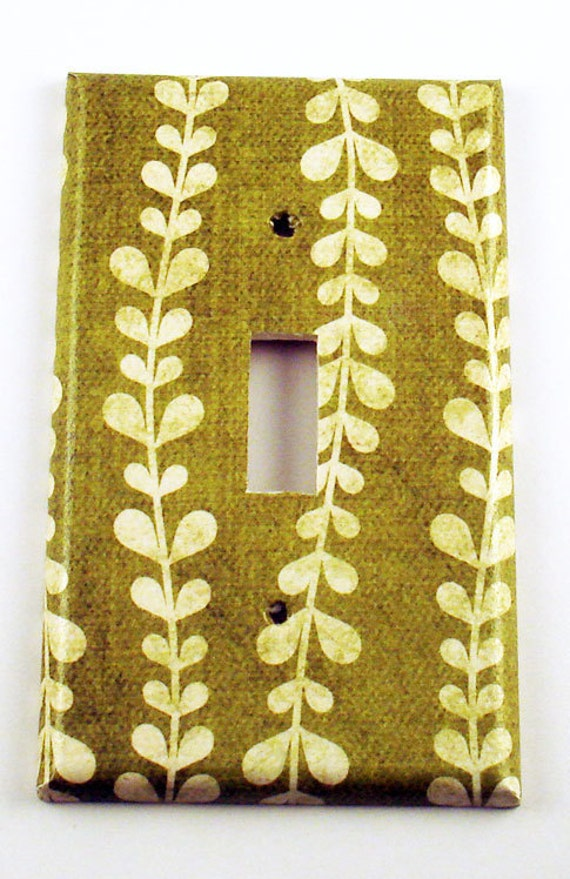 Wall decor light switch cover switch plate by funkychickendesign - Wall switch plates decorative ...