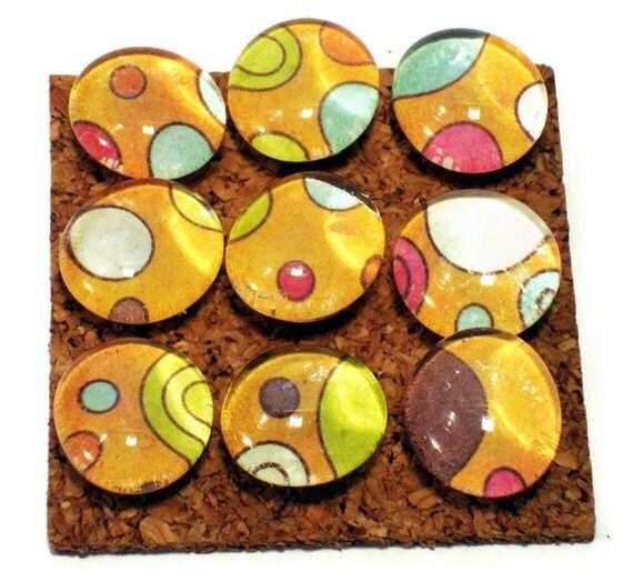 Decorative Funky Push Pins Thumb Tacks Cork Board Pins Happy Dance ...