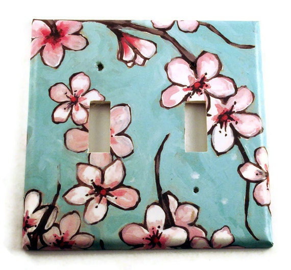 Decorative switch plate wall decor double switchplate light - Decorative switch wall plates ...