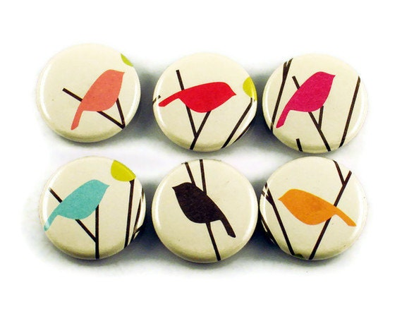 Funky Refrigerator Button Magnets  in  Tweets