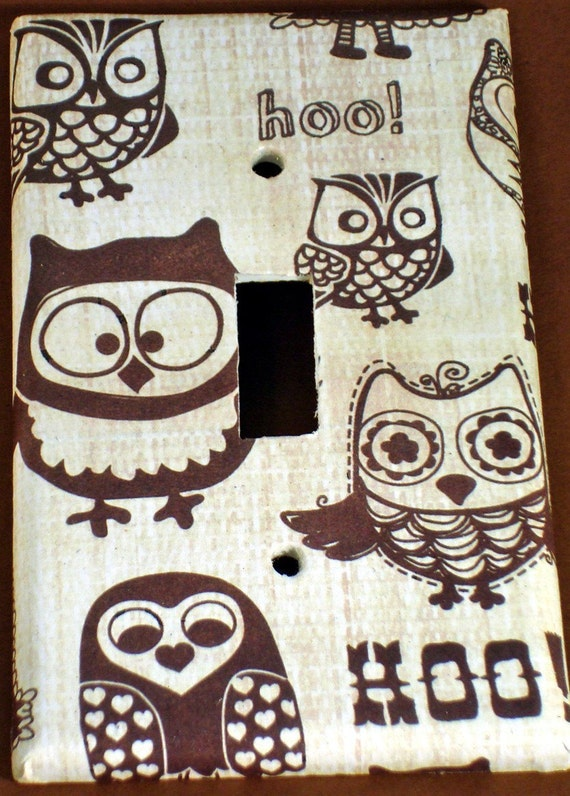 Switchplate - Owl Pals ( 701)