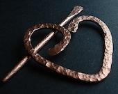 Heart Shawl Pin
