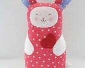 Bunny Rabbit softie toy Bunnie Valentine's day Easter SALE WAS 25 NOW 12.50
