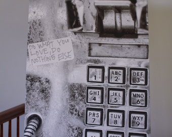 Philadelphia Payphone Photo on Canvas