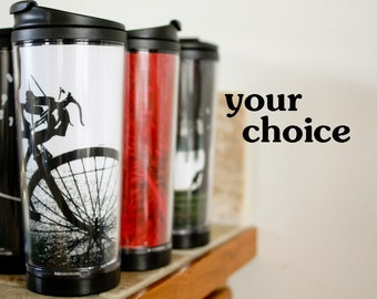 READY TO SHIP: Travel coffee mug