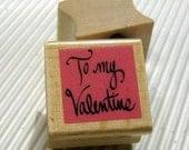 Valentine Rubber Stamp  se27