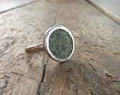 UNIQUE Ancient Roman coin and silver ring