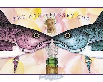 The Anniversary Cod (greeting cod)
