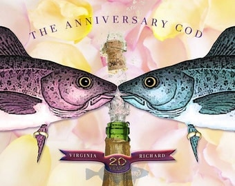 The Anniversary Cod (personalized print)