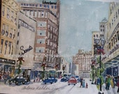Monroe Ave,1962 Grand Rapids MI Wurzburgs, Steketetees , one 5 X 7 signed print
