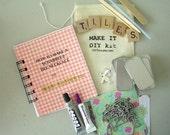 The Complete DIY Scrabble Tile Necklace Kit