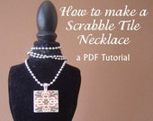 How to make your own Scrabble Tile Necklace TUTORIAL