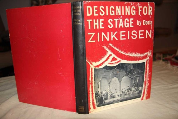 1940s Designing  for  the  stage  hard cover book