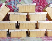 One Dozen New Wood Berry Baskets Pint Size Great Packaging